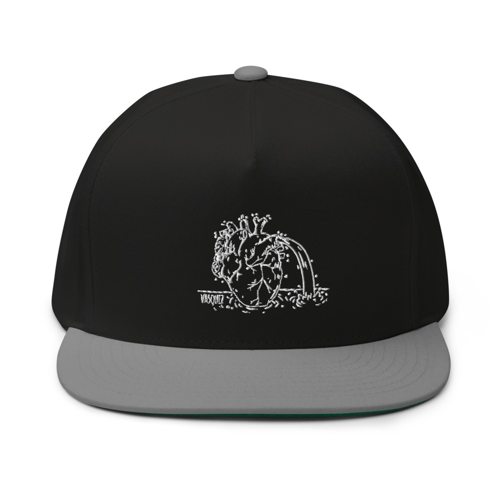 Heart of a Swimmer by Miguel Vásquez Hat, Black Logo
