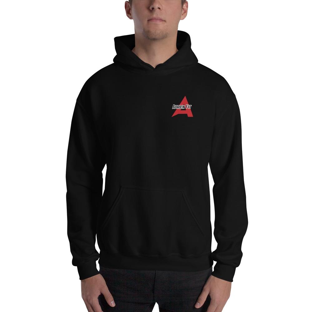 Adrien Fit, Men's Hoodie, Small Logo
