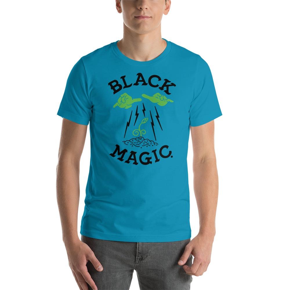 Black Magic by Antonio Washington Men's T-Shirt