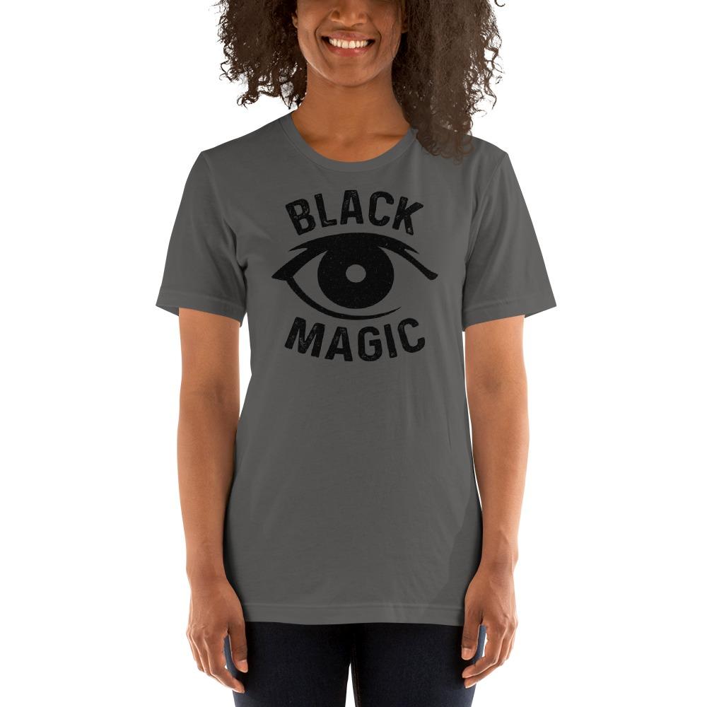 Black Magic V#2 by Antonio Washington Women's T-Shirt, Black Logo