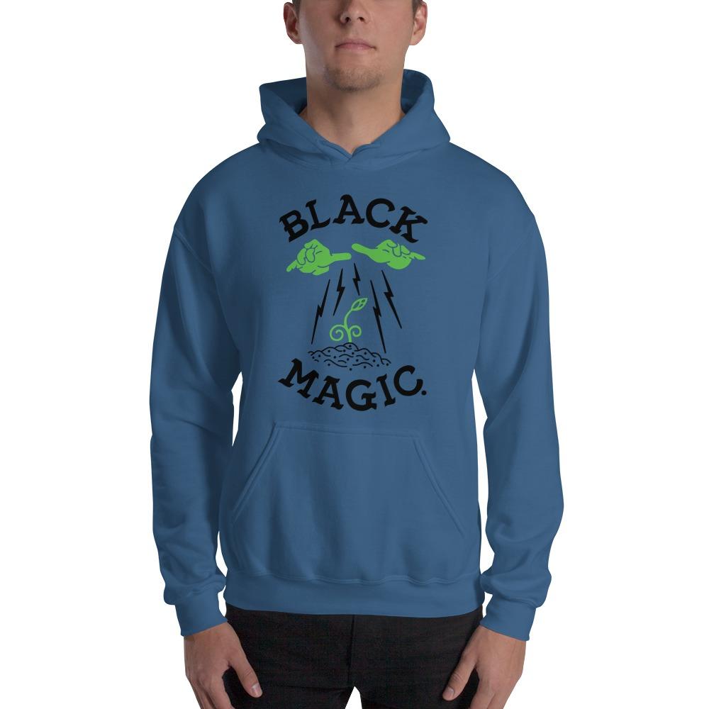 Black Magic V#1 by Antonio Washington Men's Hoodie, Black Logo