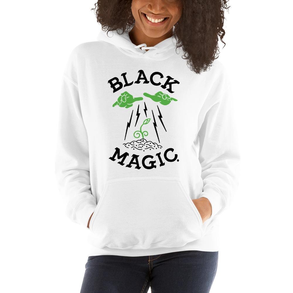 Black Magic V#1 by Antonio Washington Women's Hoodie, Black Logo