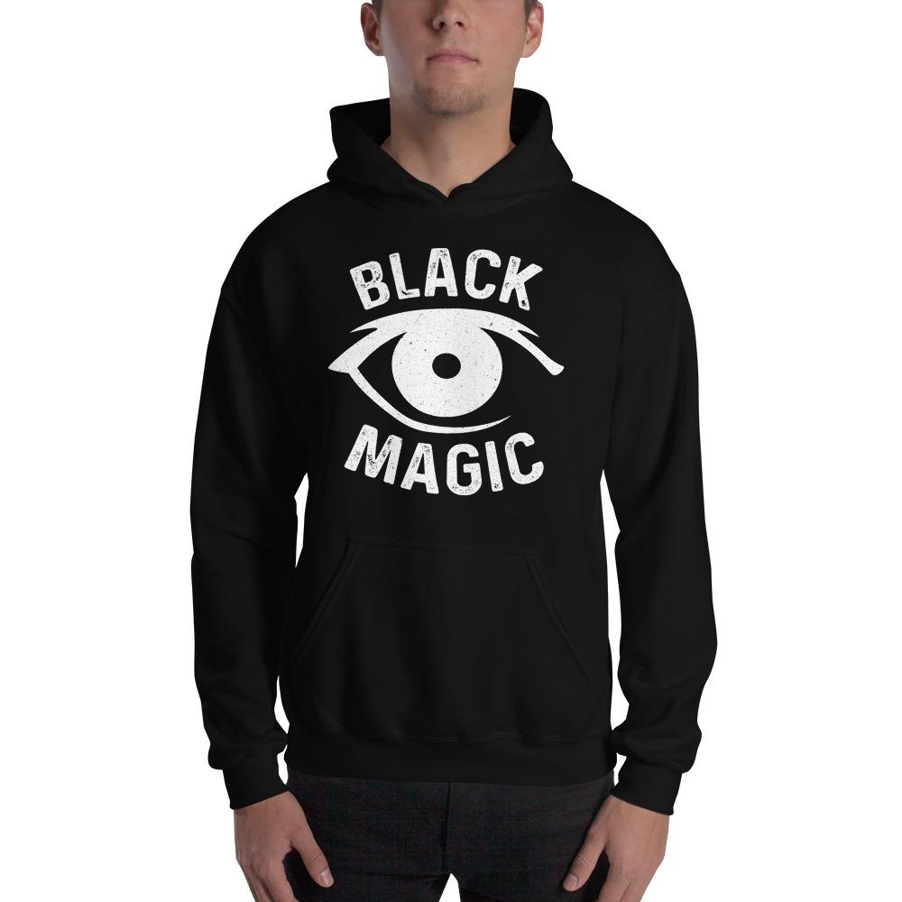 Black Magic V#2 by Antonio Washington Men's Hoodie, White Logo