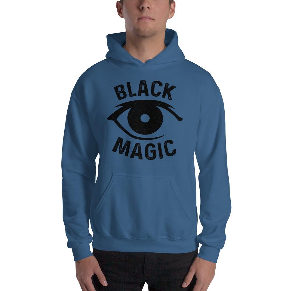Black Magic V#2 by Antonio Washington Men's Hoodie, Black Logo
