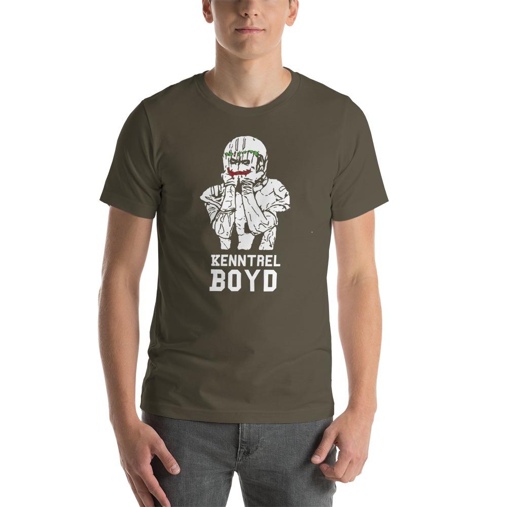 Kenntrel Boyd, Men's T-Shirt, White Logo