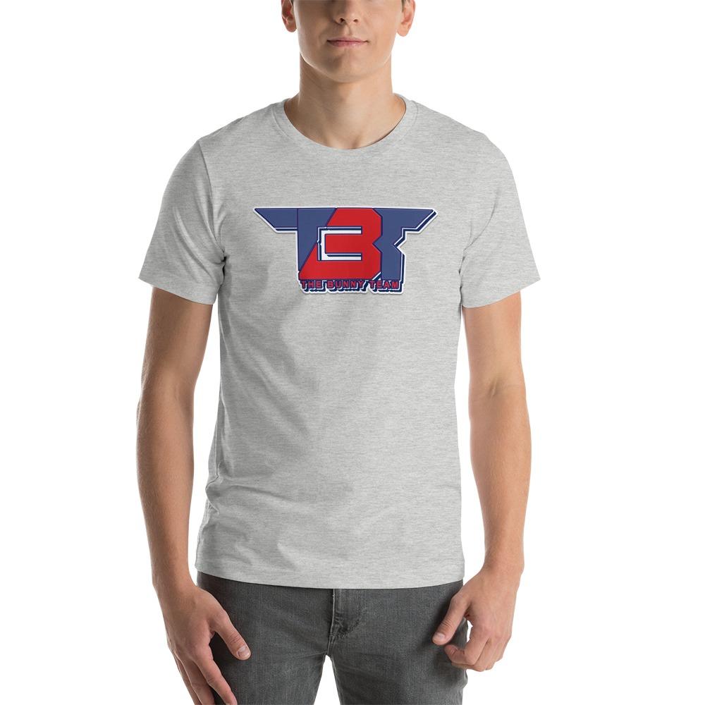TBT by Robert Easter Jr, Men's T-Shirt, Blue/Red Logo