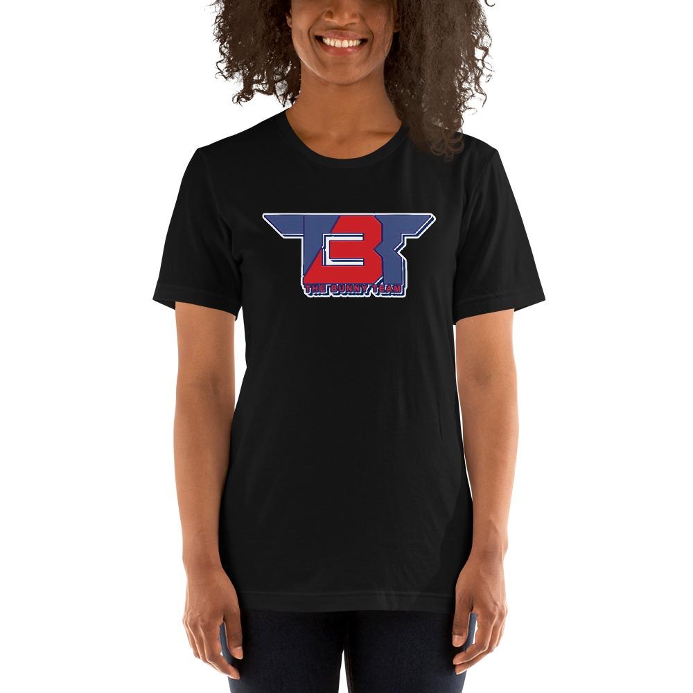 TBT by Robert Easter Jr, Women's T-Shirt, Blue/Red Logo