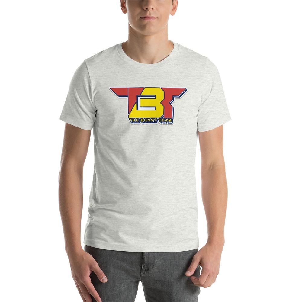 TBT by Robert Easter Jr, Men's T-Shirt, Yellow/Red Logo