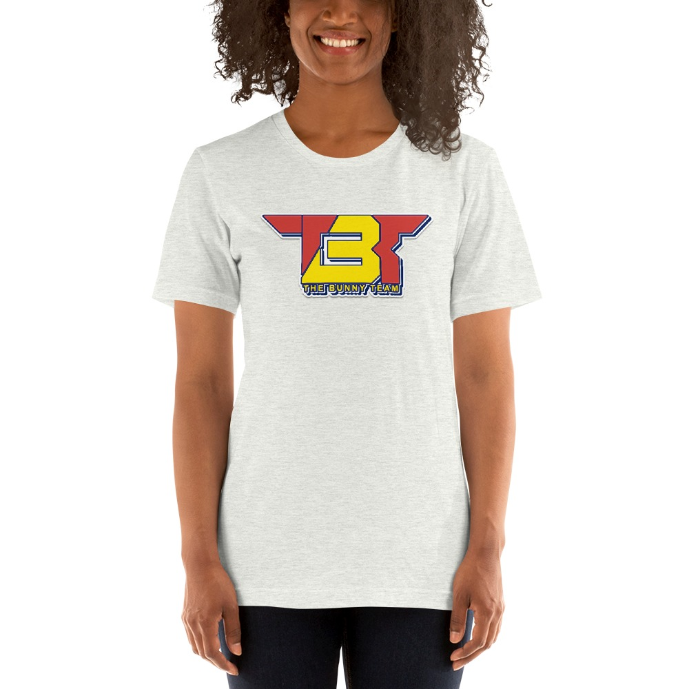 TBT by Robert Easter Jr, Women's T-Shirt, Yellow/Red Logo