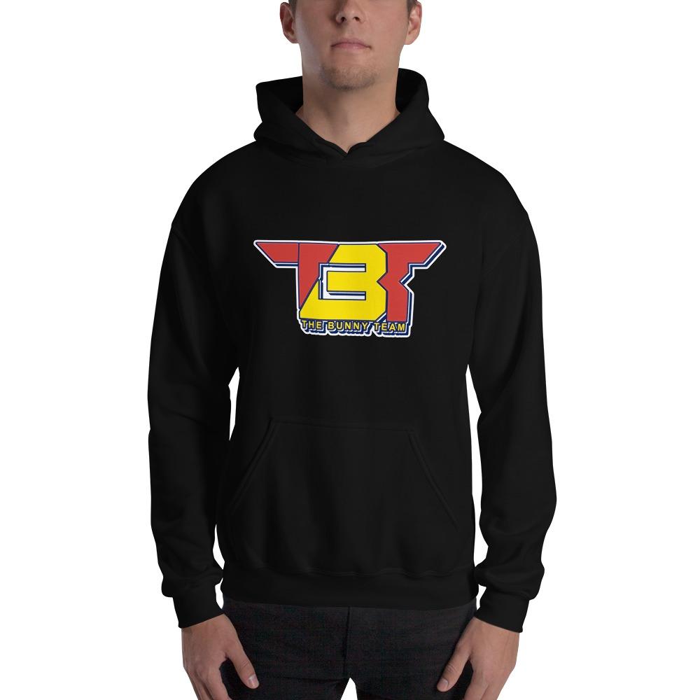 TBT by Robert Easter Jr, Men's Hoodie, Yellow/Red Logo
