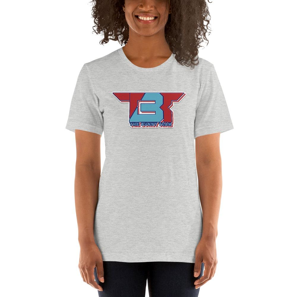 TBT by Robert Easter Jr, Women's T-Shirt, Sky/Red Logo