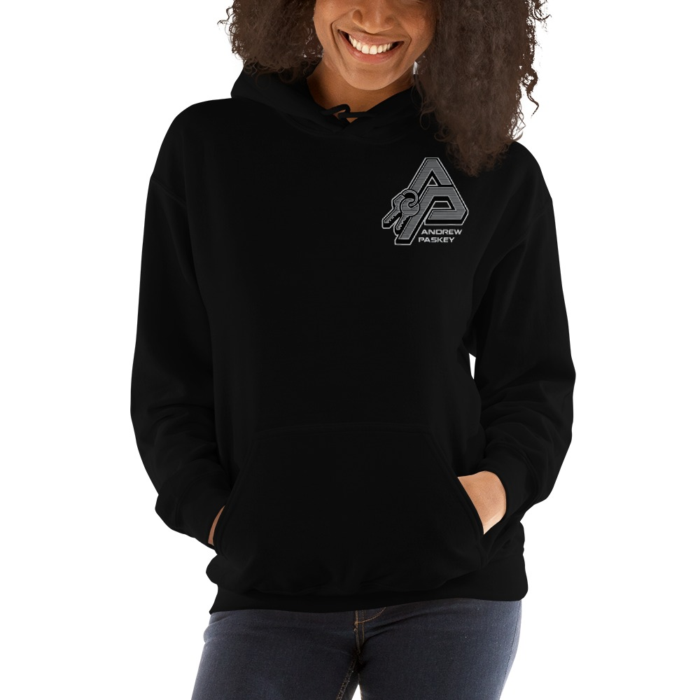 Andrew Paskey Women's Hoodie, Mini Logo
