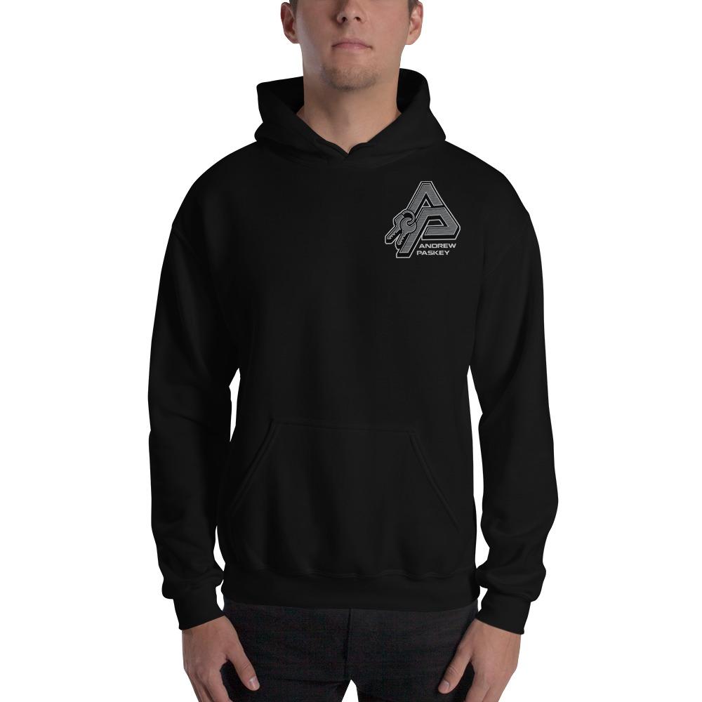 Andrew Paskey Men's Hoodie, Mini Logo