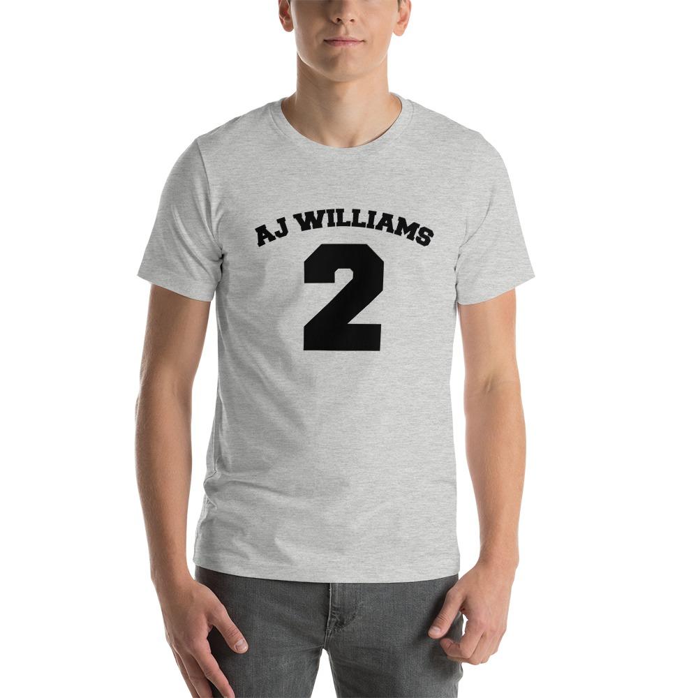 AJ Williams Men's T-shirt , Black Logo