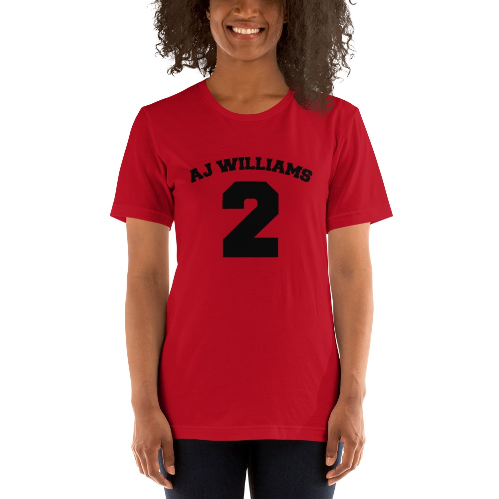 AJ Williams Women's T-shirt , Black Logo