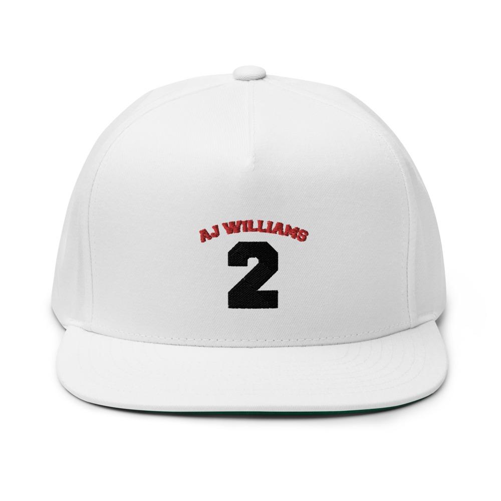 AJ Williams Hat , Red and Black Logo