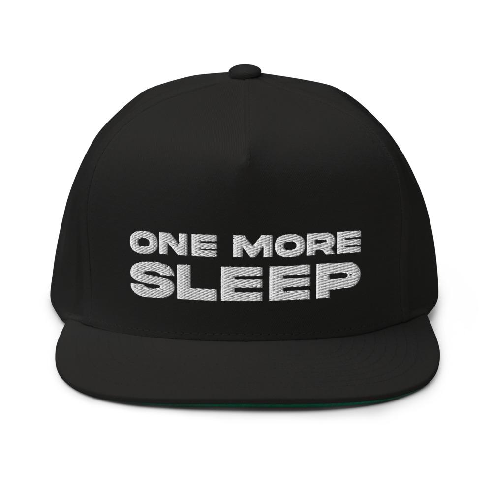One More Sleep by Jon Anik, Hat, White Logo
