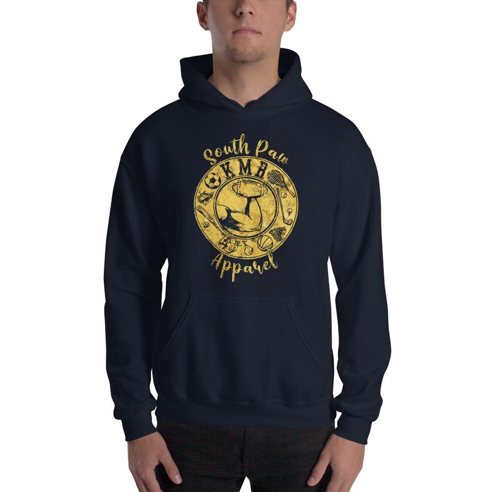Keegan Mccormack-reamer Men's Hoodie , Gold Logo