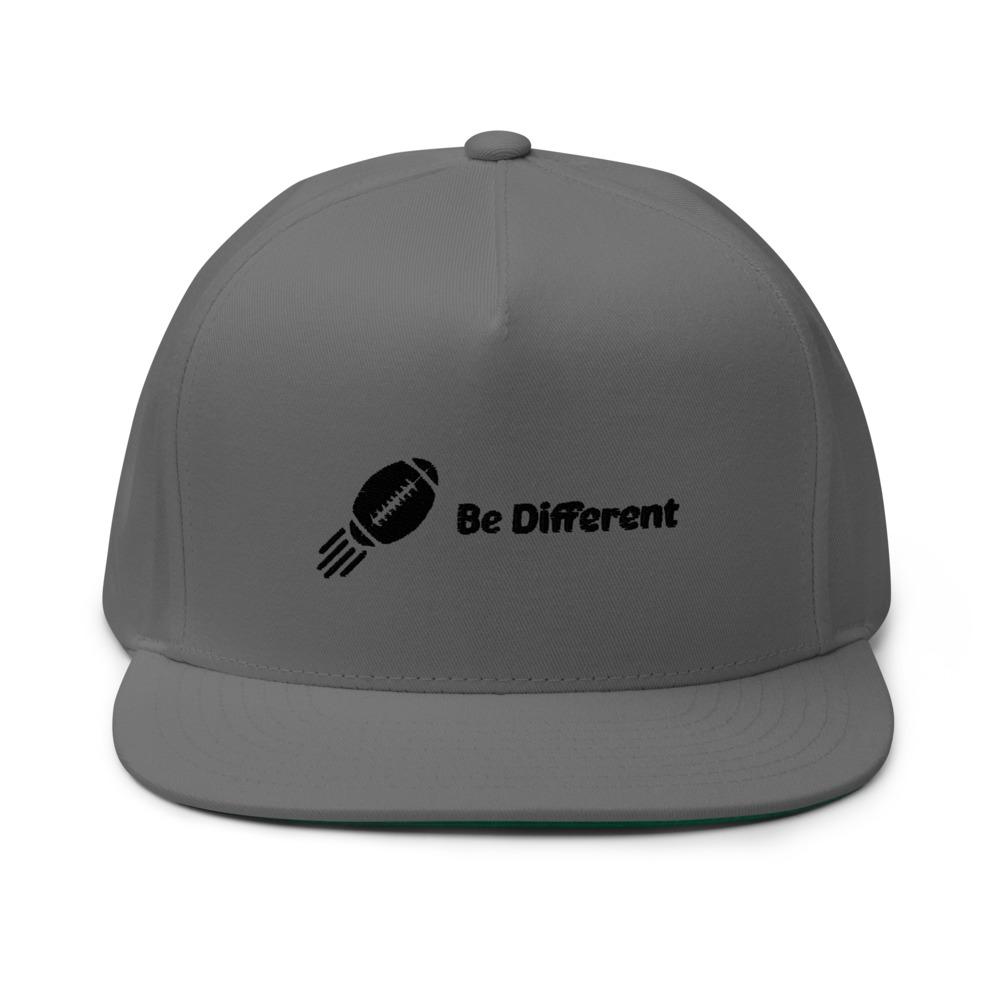 """Be Different"" by Basilio Jimenez Hat, Black Logo"