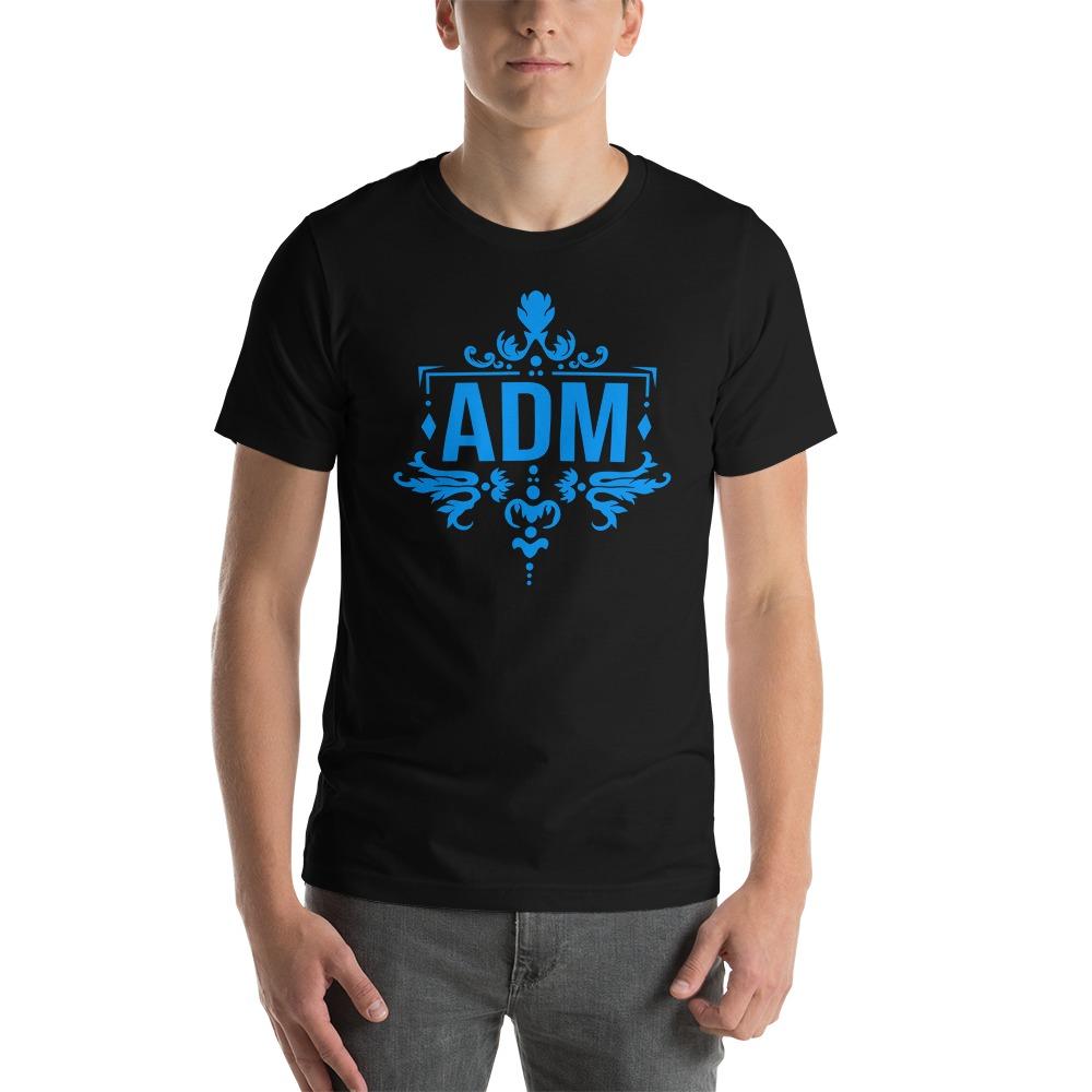 ADM By Alec McAlister, Men's T-Shirt, Blue Logo