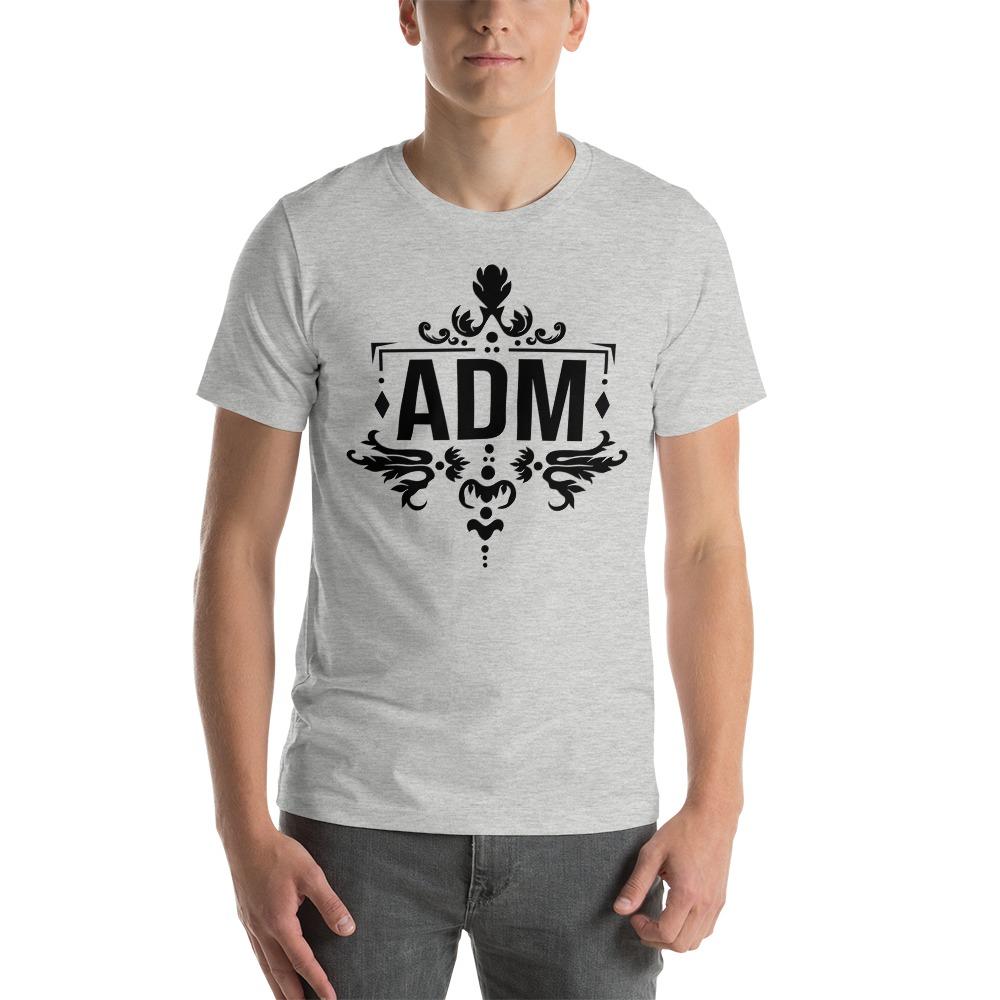 ADM By Alec McAlister, Men's T-Shirt, Black Logo