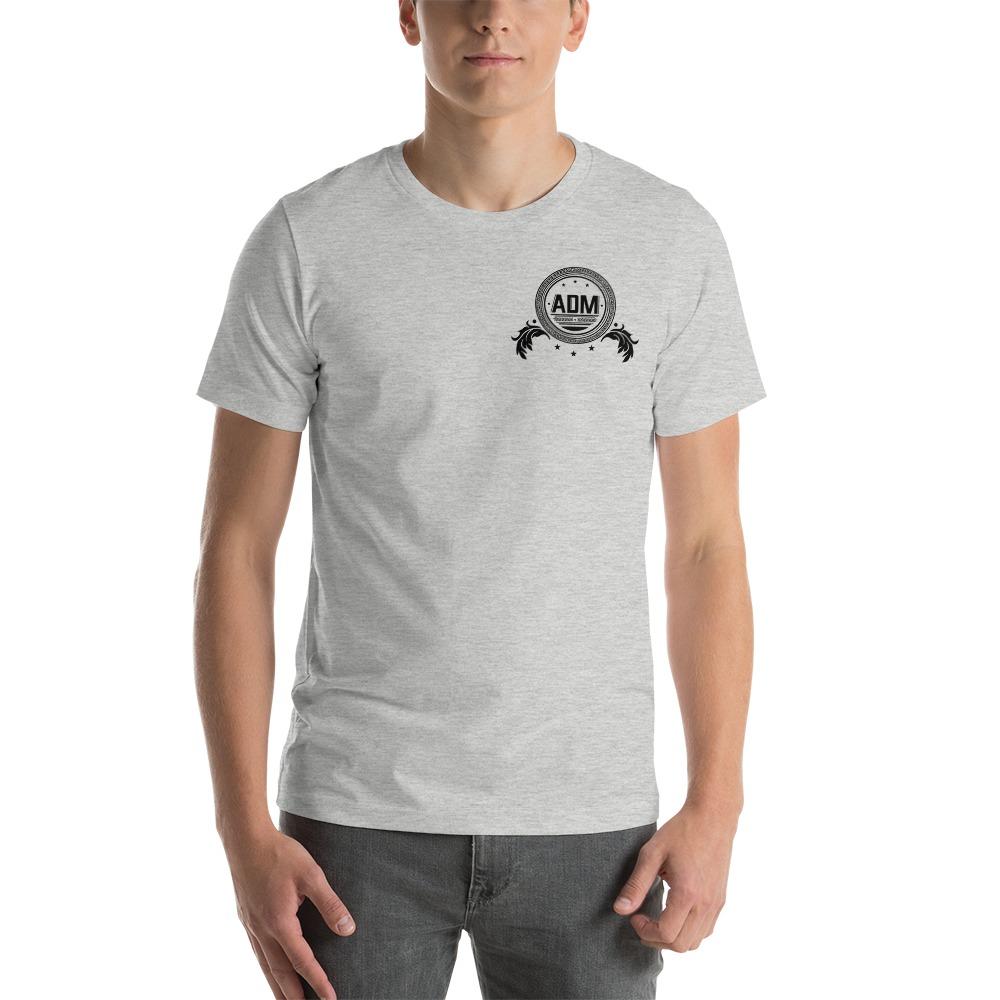 ADM By Alec McAlister, Men's T-Shirt, Black Circle Logo Mini