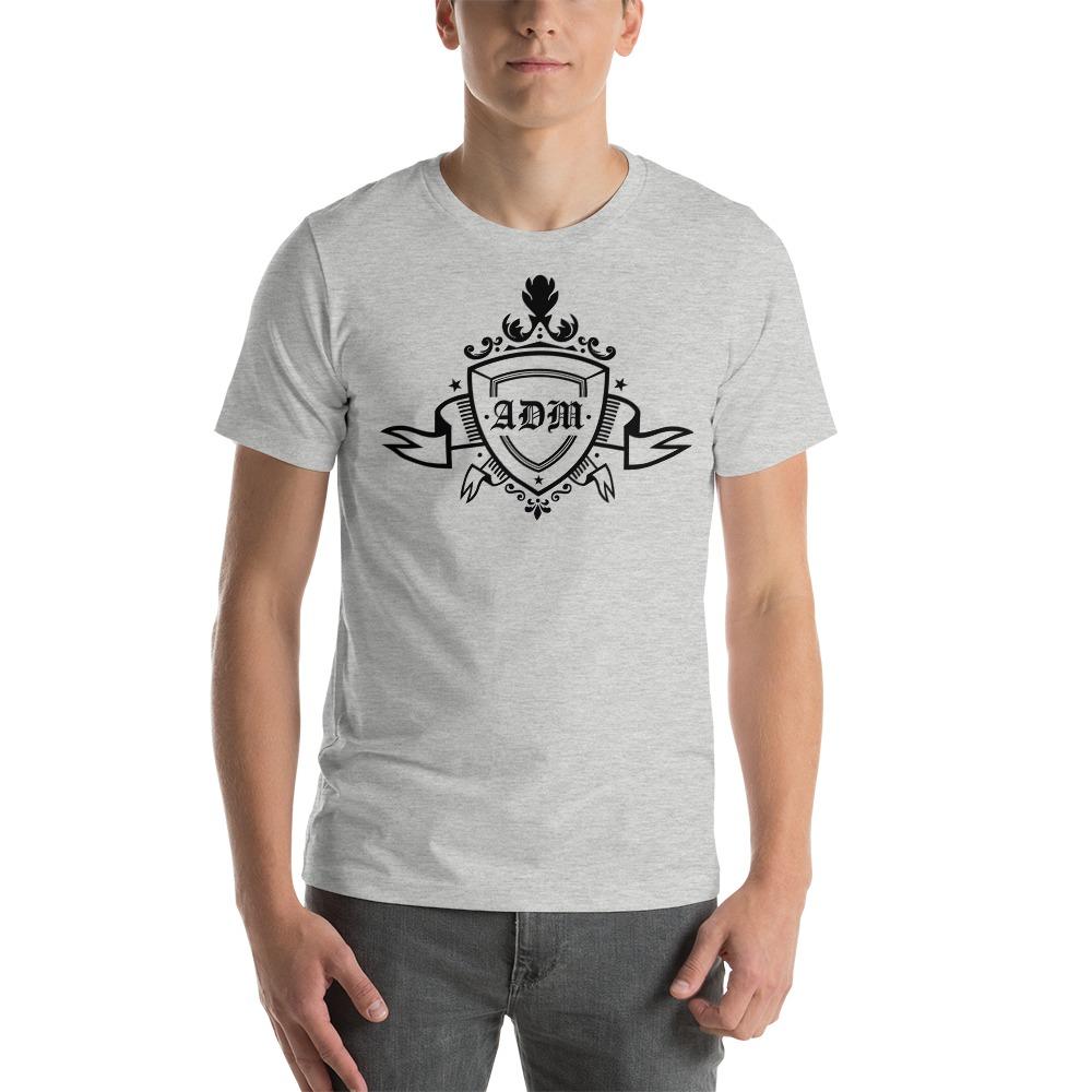 ADM By Alec McAlister, Men's T-Shirt, Black Ribbon Logo
