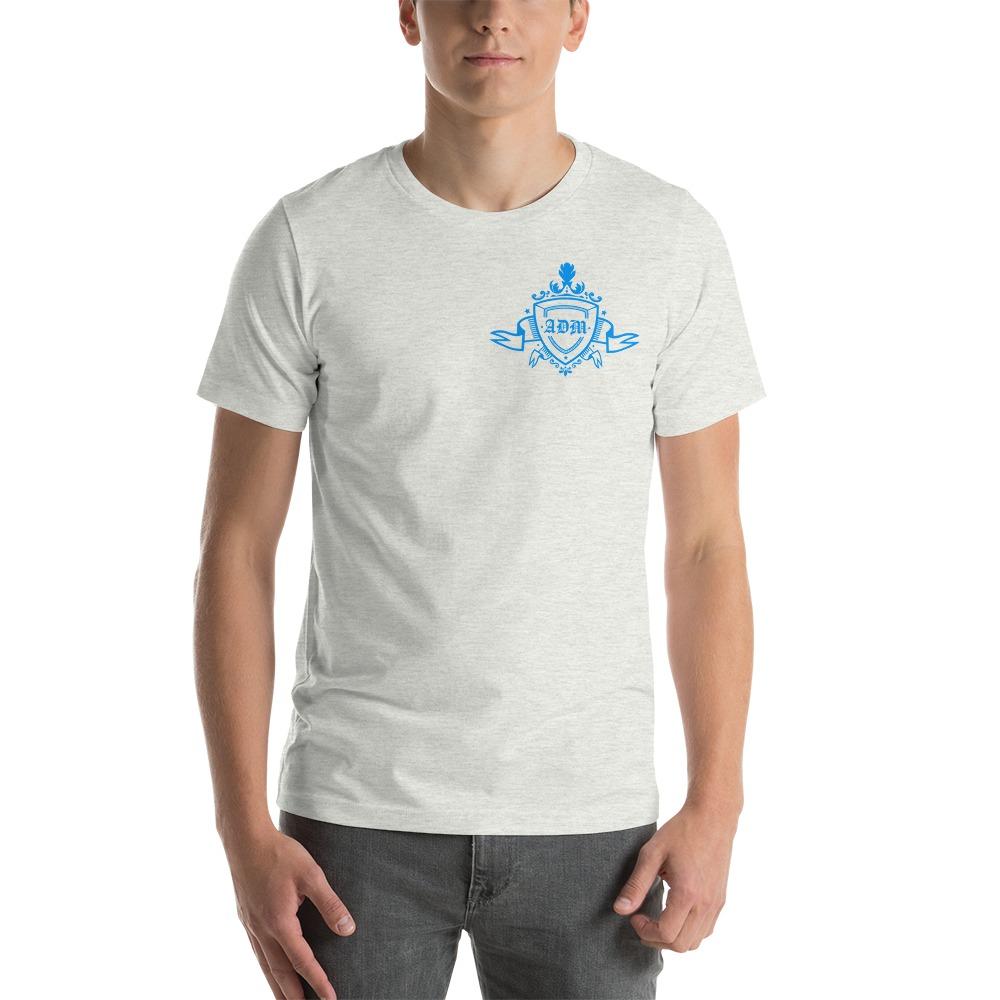 ADM By Alec McAlister, Men's T-Shirt, Blue Ribbon Logo Mini
