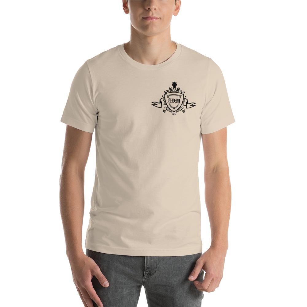 ADM By Alec McAlister, Men's T-Shirt, Black Ribbon Logo Mini