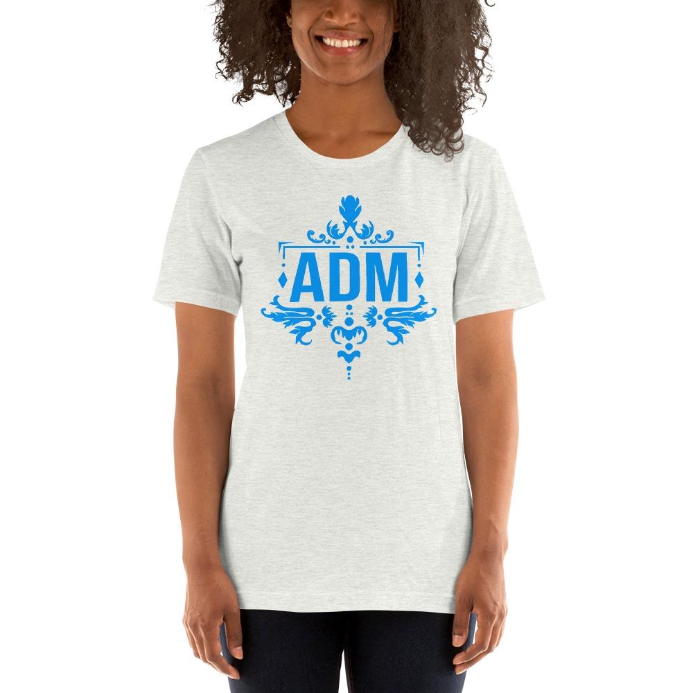 ADM By Alec McAlister, Women's T-Shirt, Blue Logo