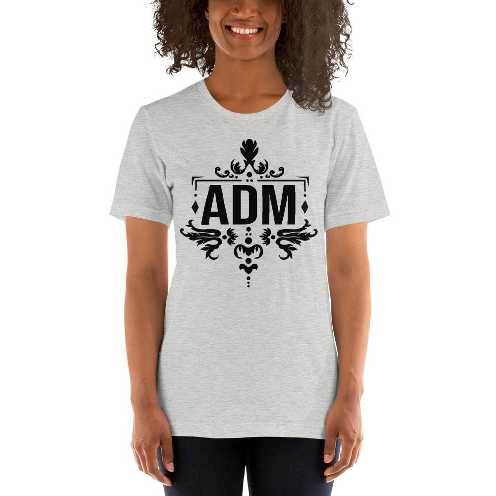 ADM By Alec McAlister, Women's T-Shirt, Black Logo