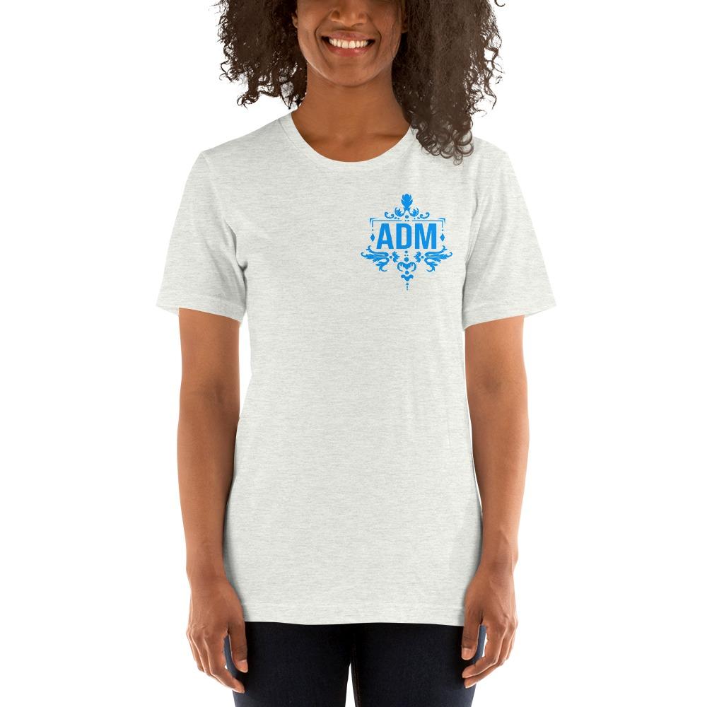 ADM By Alec McAlister, Women's T-Shirt, Blue Logo Mini