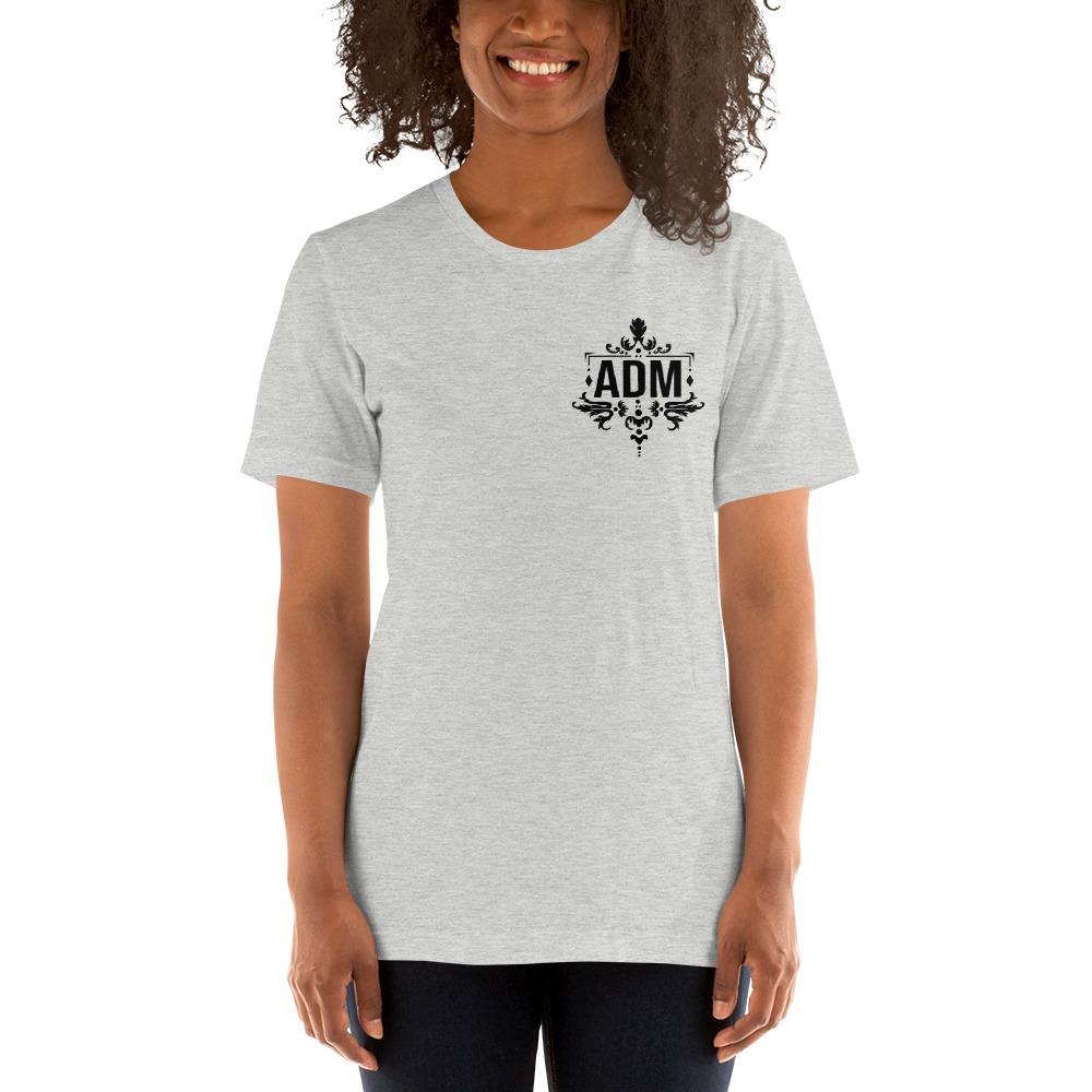 ADM By Alec McAlister, Women's T-Shirt, Black Logo Mini