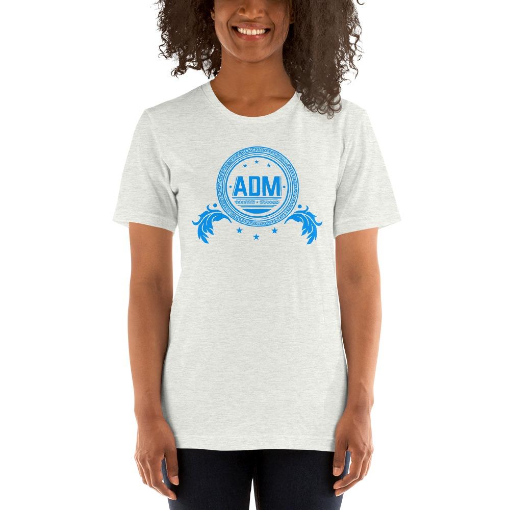 ADM By Alec McAlister, Women's T-Shirt, Blue Circle Logo