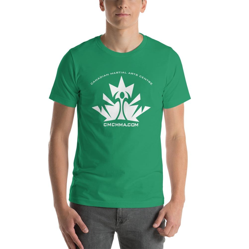 CMC Men's T-Shirt, White Logo