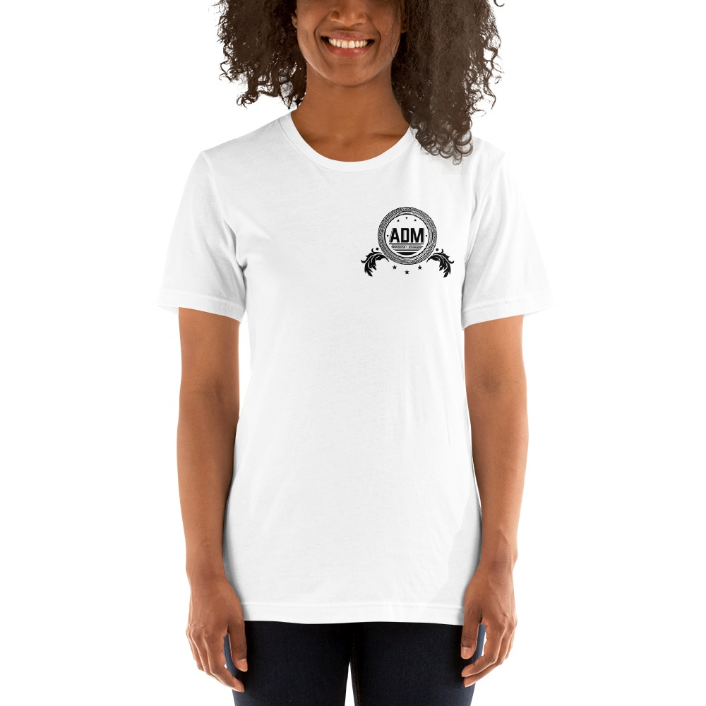 ADM By Alec McAlister, Women's T-Shirt, Black Circle Logo Mini