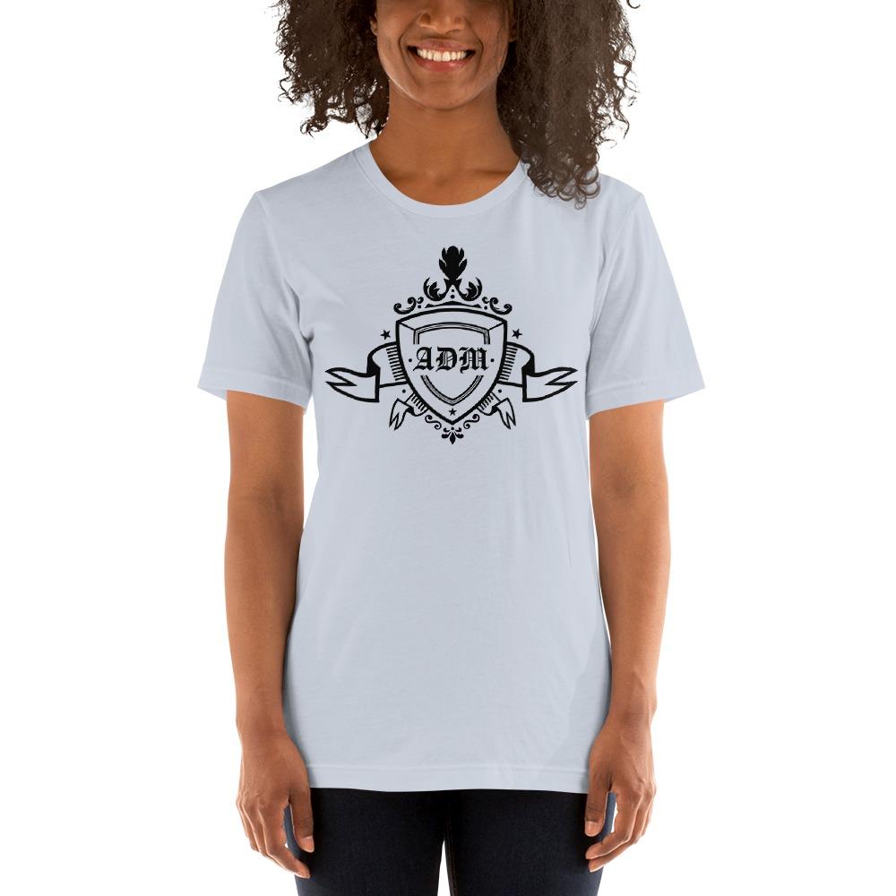 ADM By Alec McAlister, Women's T-Shirt, Black Ribbon Logo