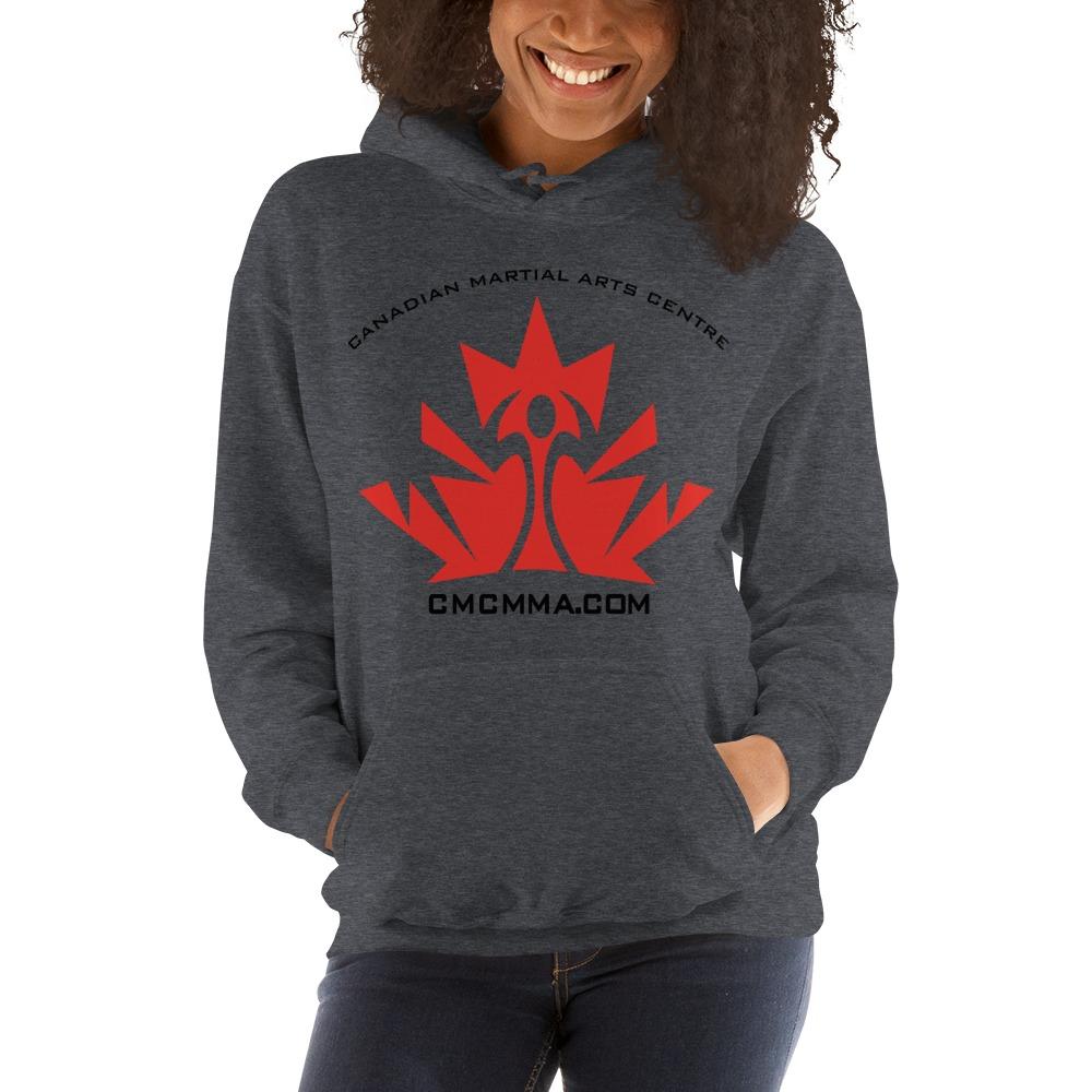 CMC Women's Hoodie, Red Logo