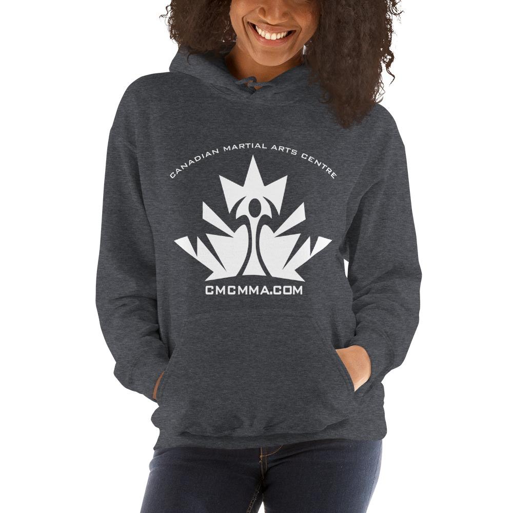 CMC Women's Hoodie, White Logo
