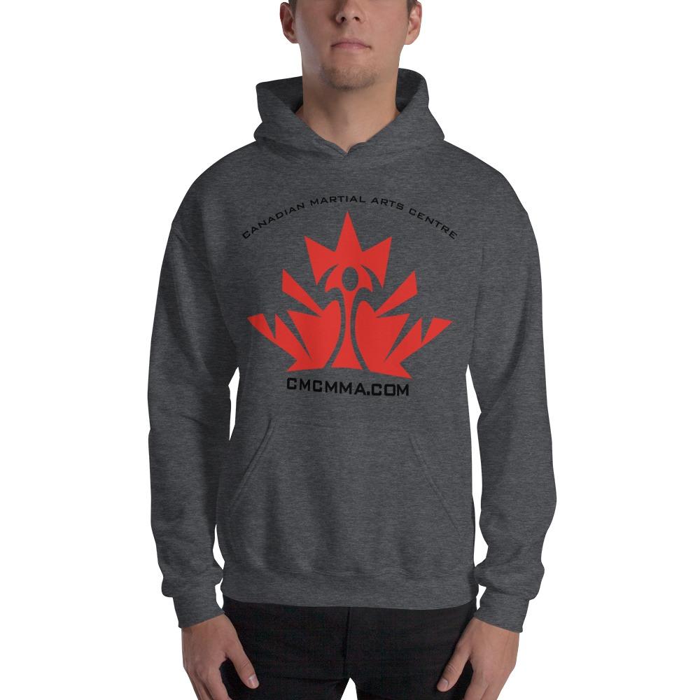 CMC Men's Hoodie, Red Logo