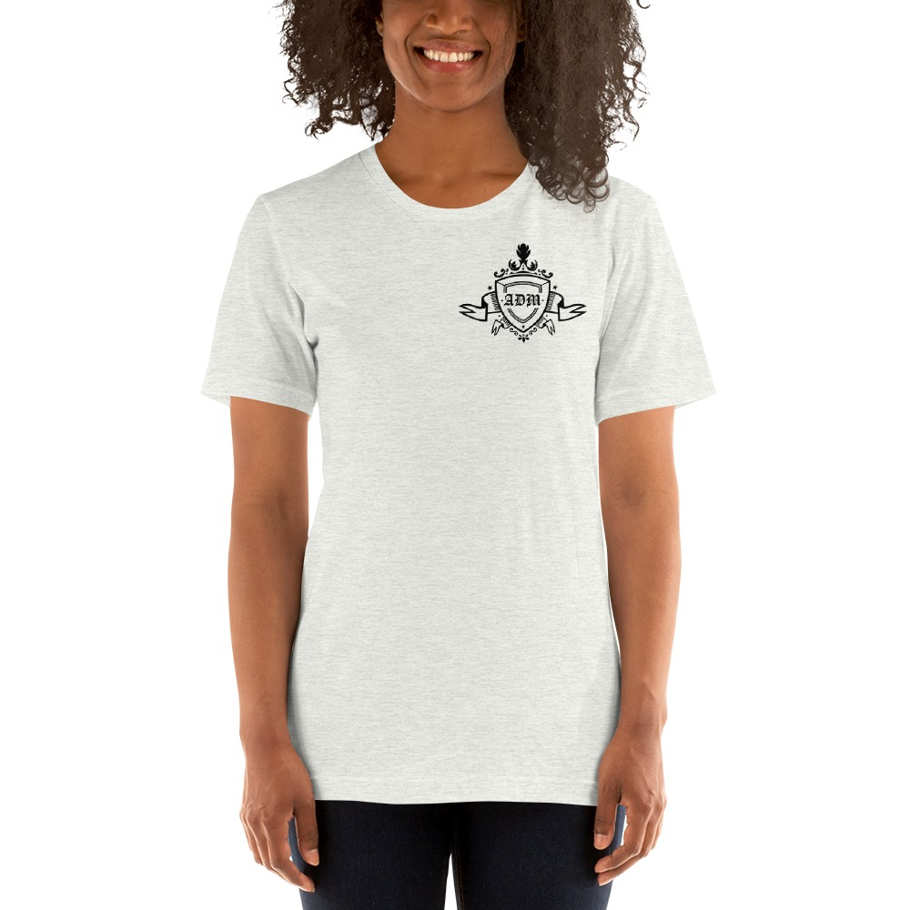 ADM By Alec McAlister, Women's T-Shirt, Black Ribbon Logo Mini