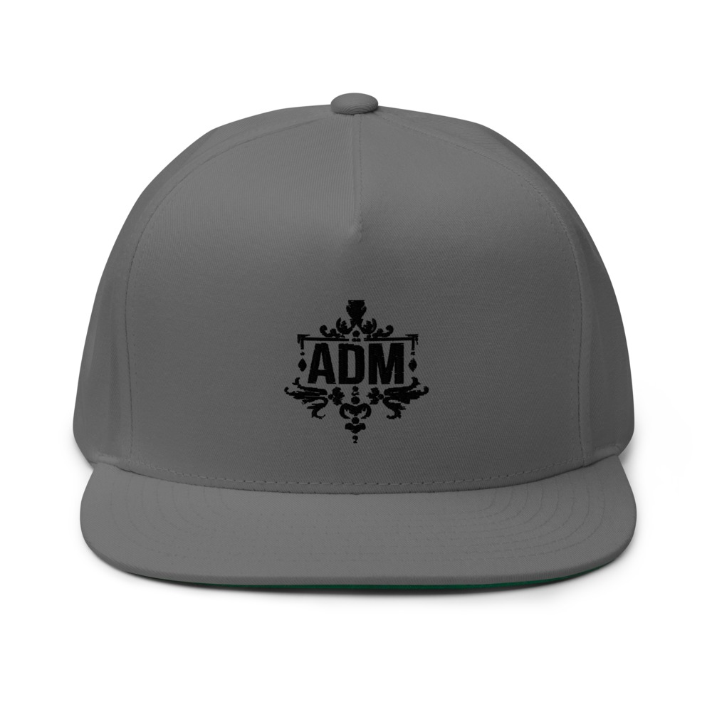ADM By Alec McAlister Hat,  Black Logo