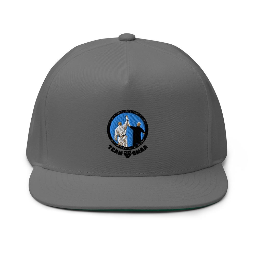 Goulburn Martial Arts Academy Hat, Black and  Blue Logo