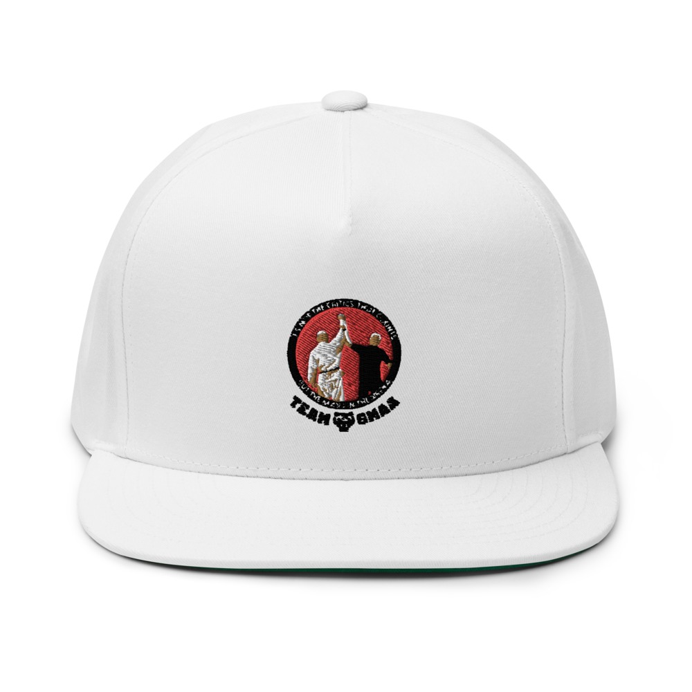 Goulburn Martial Arts Academy Hat, Black and Red Logo