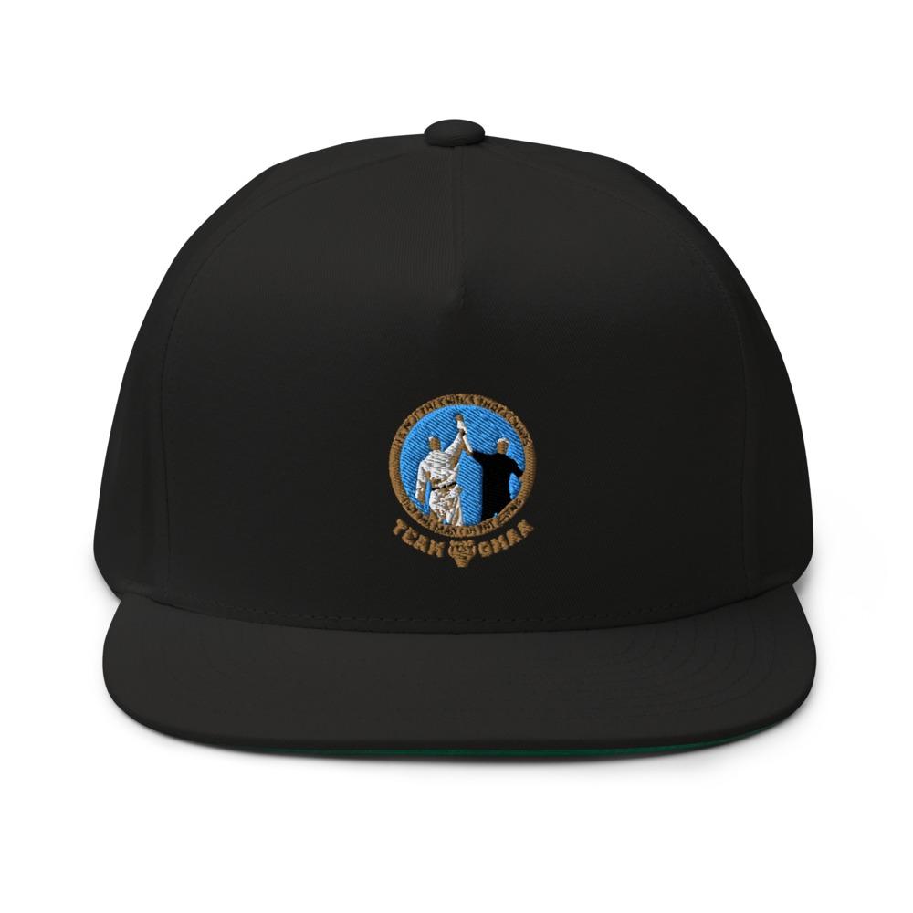 Goulburn Martial Arts Academy Hat, Gold and Blue Logo
