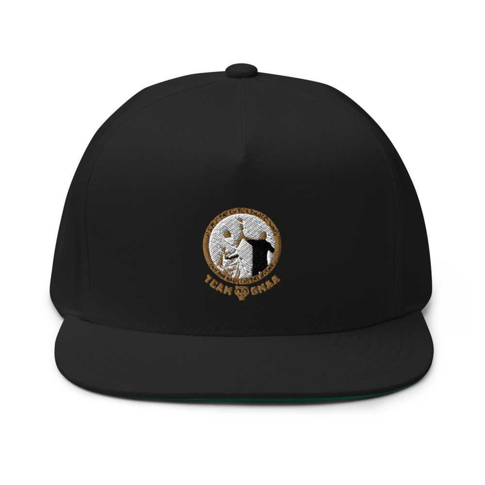 Goulburn Martial Arts Academy Hat, Gold and White Logo