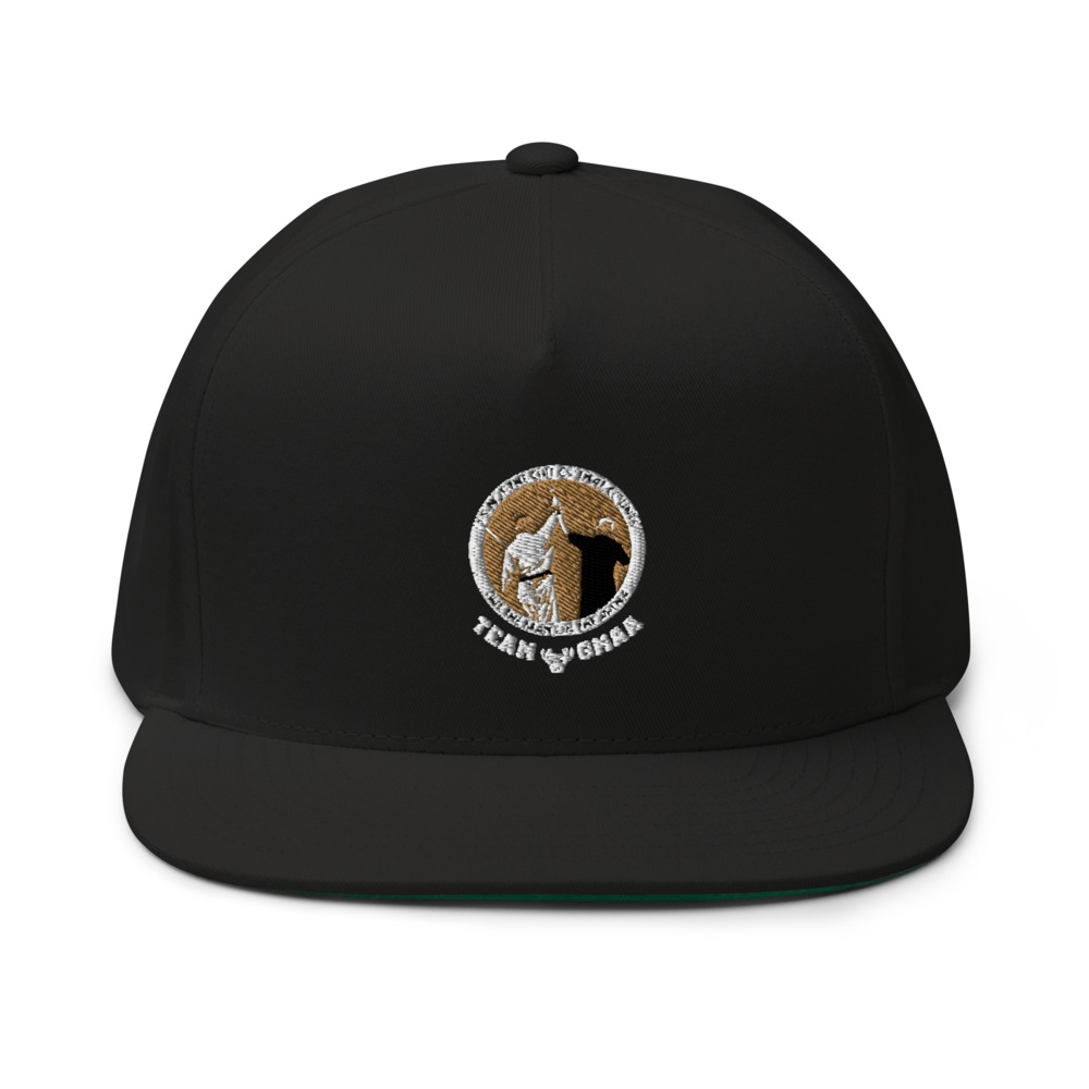 Goulburn Martial Arts Academy Hat, White and Gold Logo