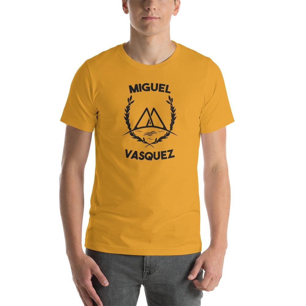 Miguel Vásquez Men's T-Shirt, Black Logo