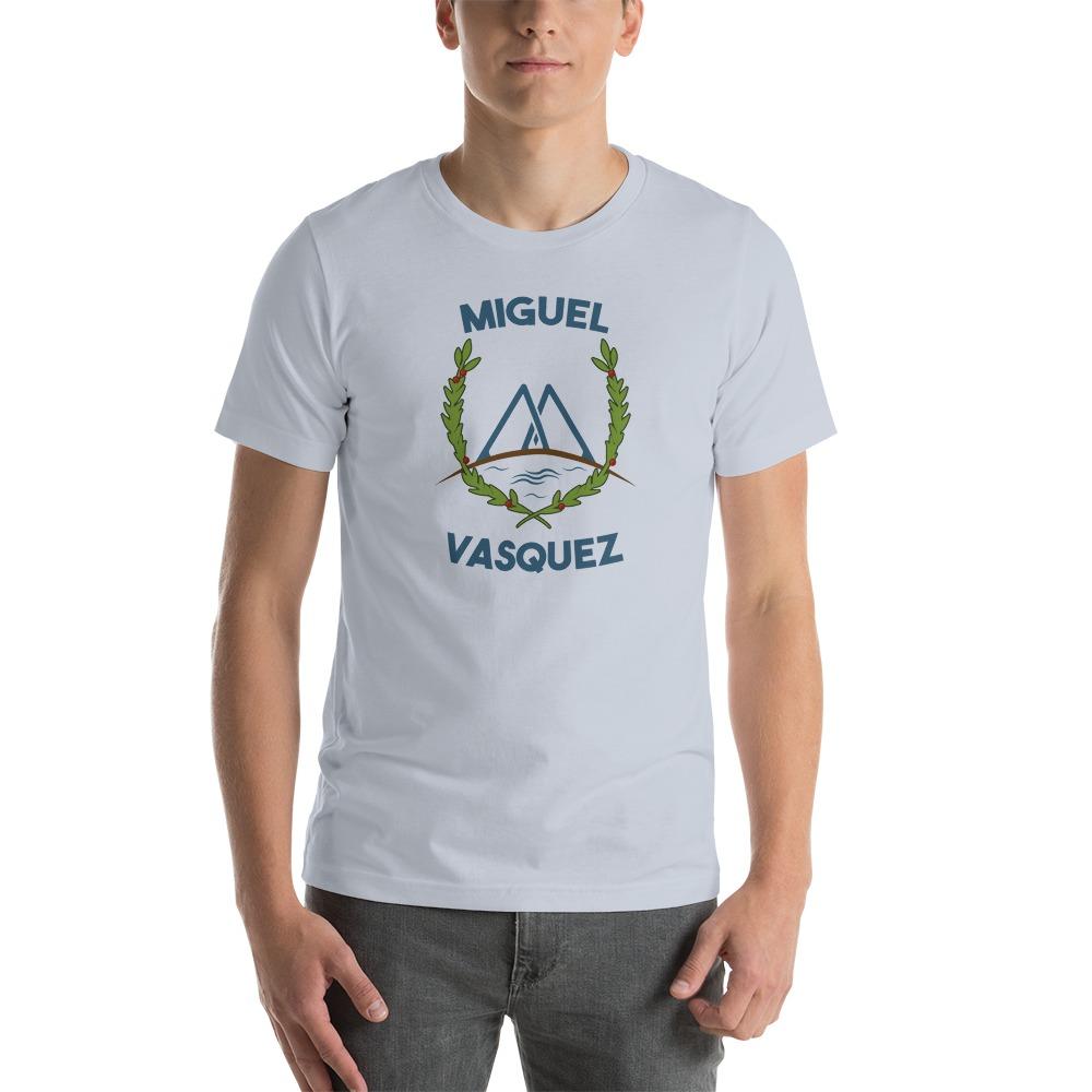 Miguel Vásquez Men's T-Shirt, Green Logo