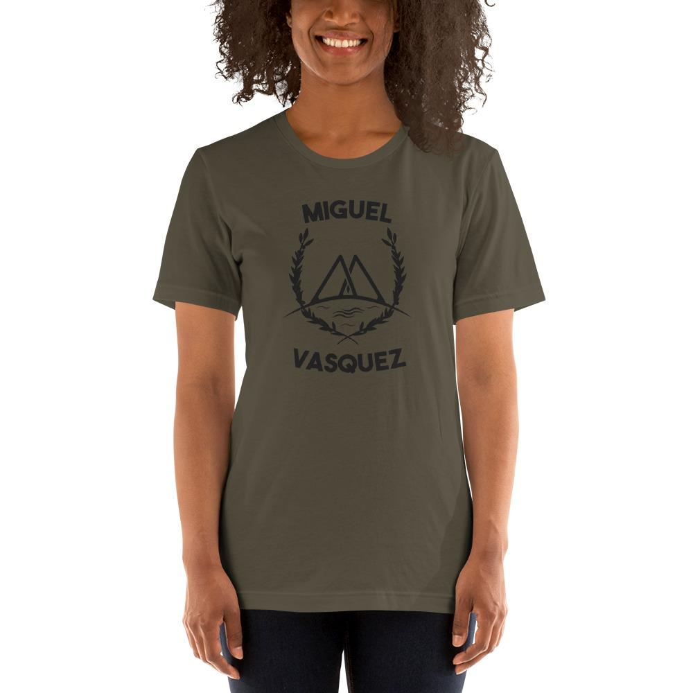 Miguel Vásquez Women's T-Shirt, Black Logo